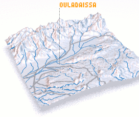 3d view of Oulad Aïssa