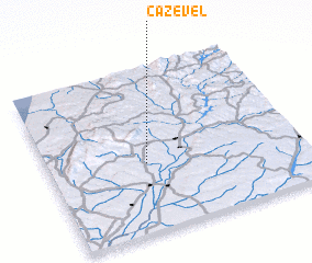 3d view of Cazével