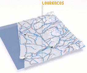 3d view of Lourenços