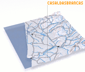 3d view of Casal das Brancas