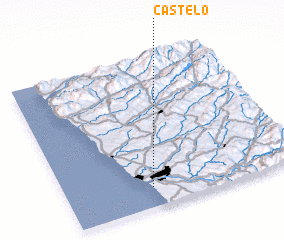 3d view of Castelo