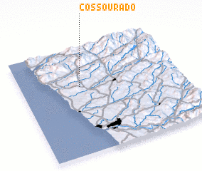 3d view of Cossourado