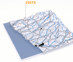 3d view of Souto