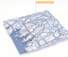 3d view of Sanguiñeda