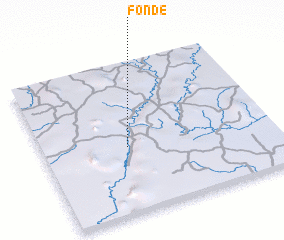 3d view of Fonde