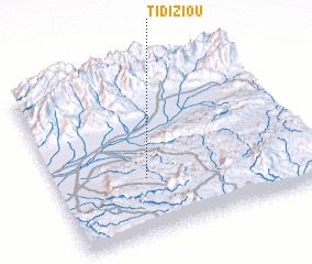 3d view of Tidiziou