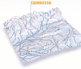 3d view of Sidi Moussa