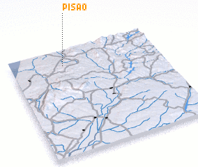 3d view of Pisão