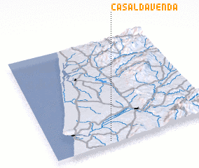 3d view of Casal da Venda