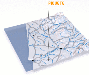 3d view of Piquete