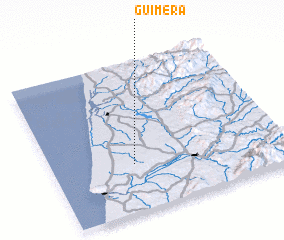 3d view of Guimera