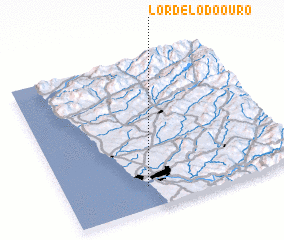 3d view of Lordelo do Ouro