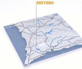 3d view of Montinho