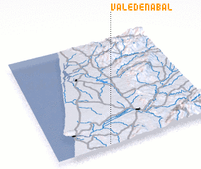 3d view of Vale de Nabal