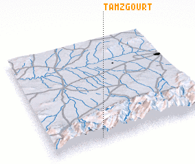 3d view of Tamzgourt