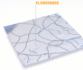 3d view of El Rherbane