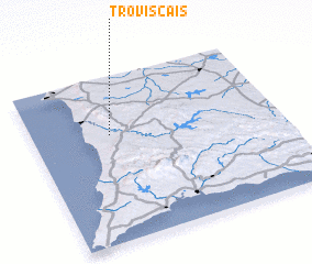 3d view of Troviscais
