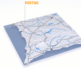 3d view of Pontão