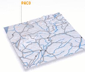 3d view of Paço