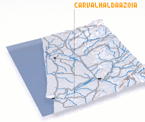 3d view of Carvalhal da Azoia