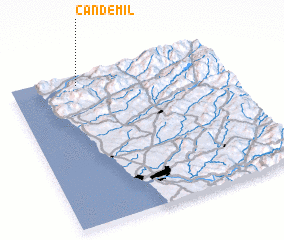 3d view of Candemil