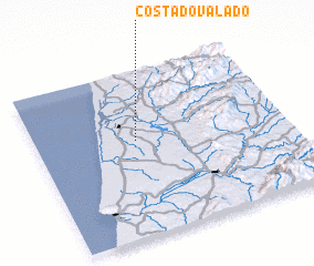 3d view of Costa do Valado