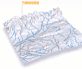 3d view of Timiouine