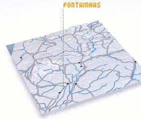 3d view of Fontainhas