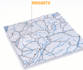 3d view of Monsanto