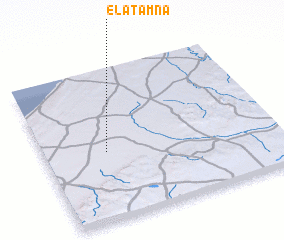 3d view of El Atamna