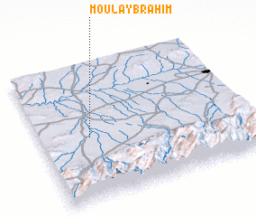 3d view of Moulay Brahim
