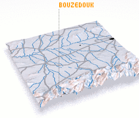 3d view of Bouzedouk