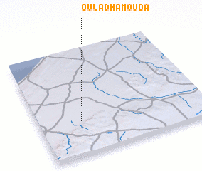 3d view of Oulad Hamouda