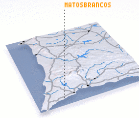3d view of Matos Brancos
