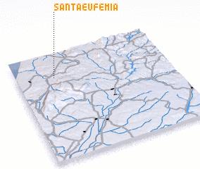 3d view of Santa Eufémia