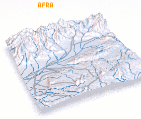 3d view of Afra