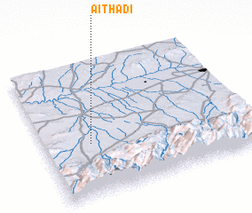 3d view of Aït Hadi