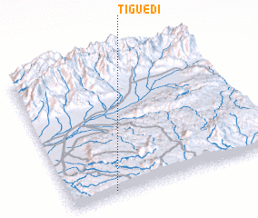 3d view of Tiguedi