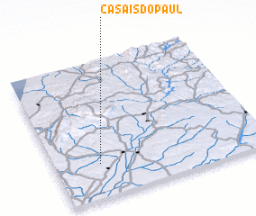 3d view of Casais do Paul
