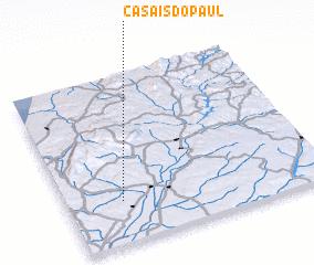 3d view of Casais do Paul