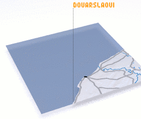 3d view of Douar Slaoui