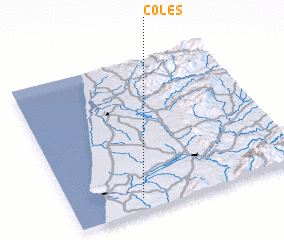 3d view of Coles