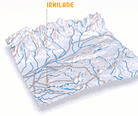 3d view of Irhilane