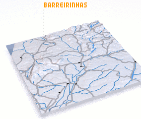 3d view of Barreirinhas