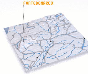 3d view of Fonte do Marco
