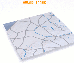 3d view of Oulad Mbarek