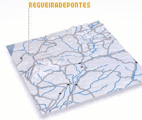 3d view of Regueira de Pontes