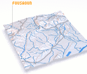 3d view of Fousaoun