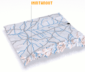 3d view of Imi n'Tanout