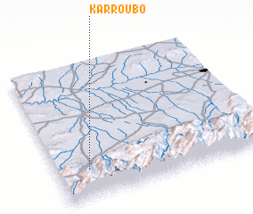 3d view of Karroubo